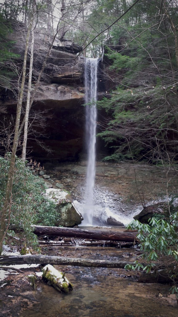 Highest Waterfall in Kentucky 3-8-15