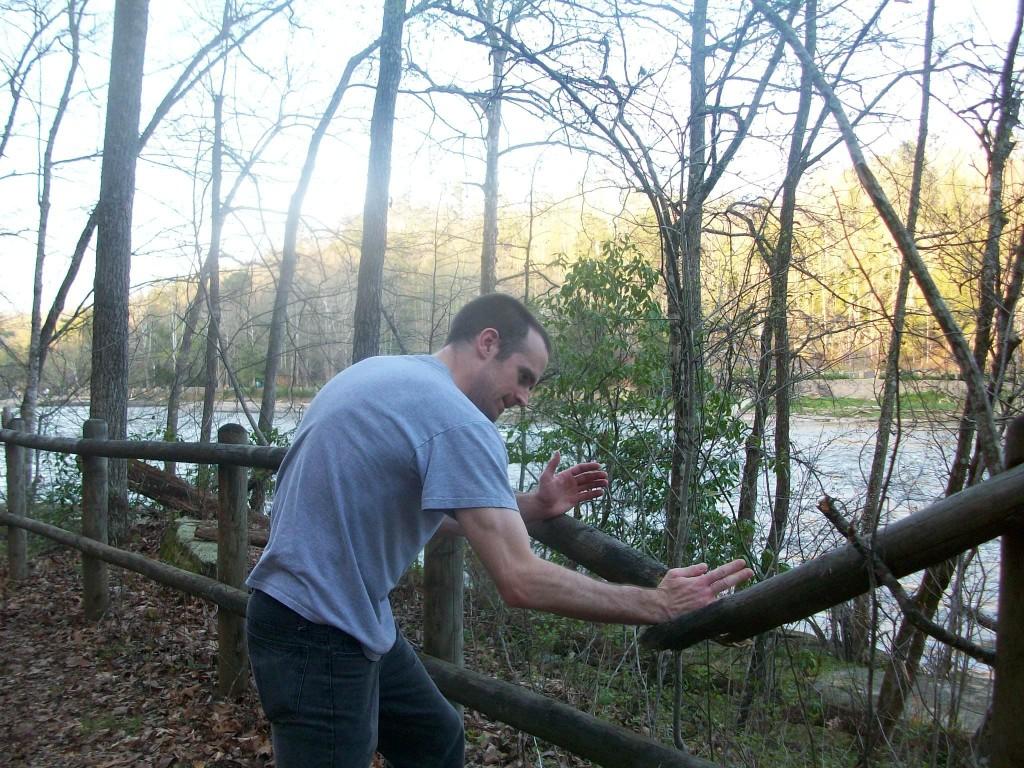 Karate Chop on Lake Cumberland 4-2011