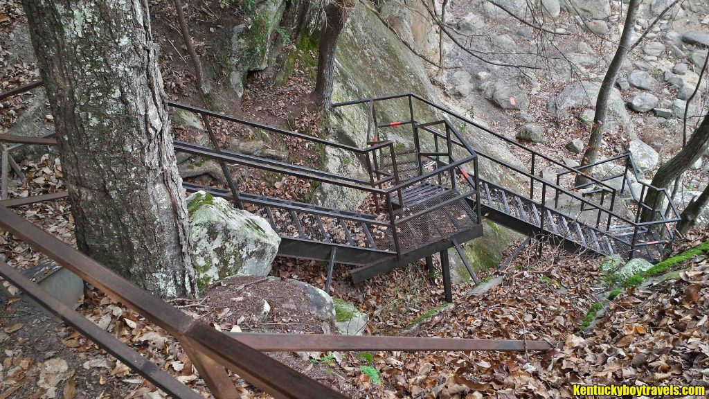 Railing on Eagle Falls Trail 11-15-15