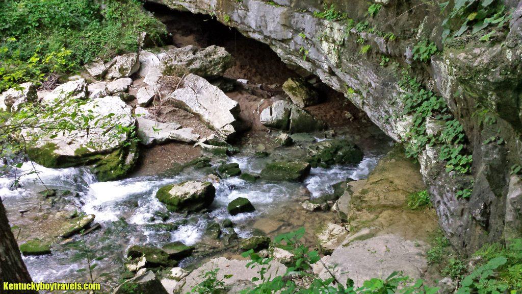 Overlooking Short Creek Cave 7/16/16