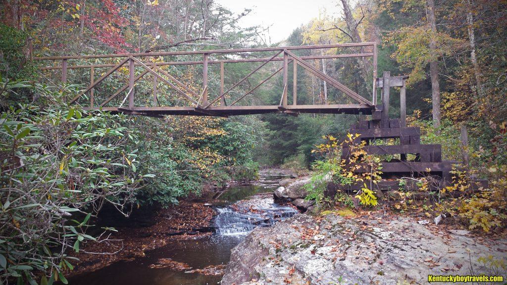 Pounder Branch Bridge, Halloween 2016