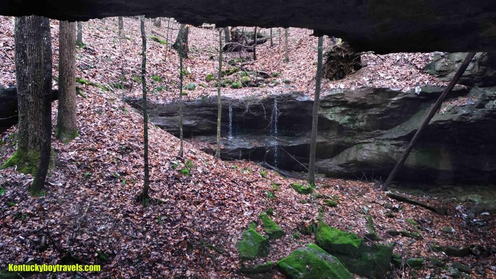 Falls of Fish Trap Arch #2