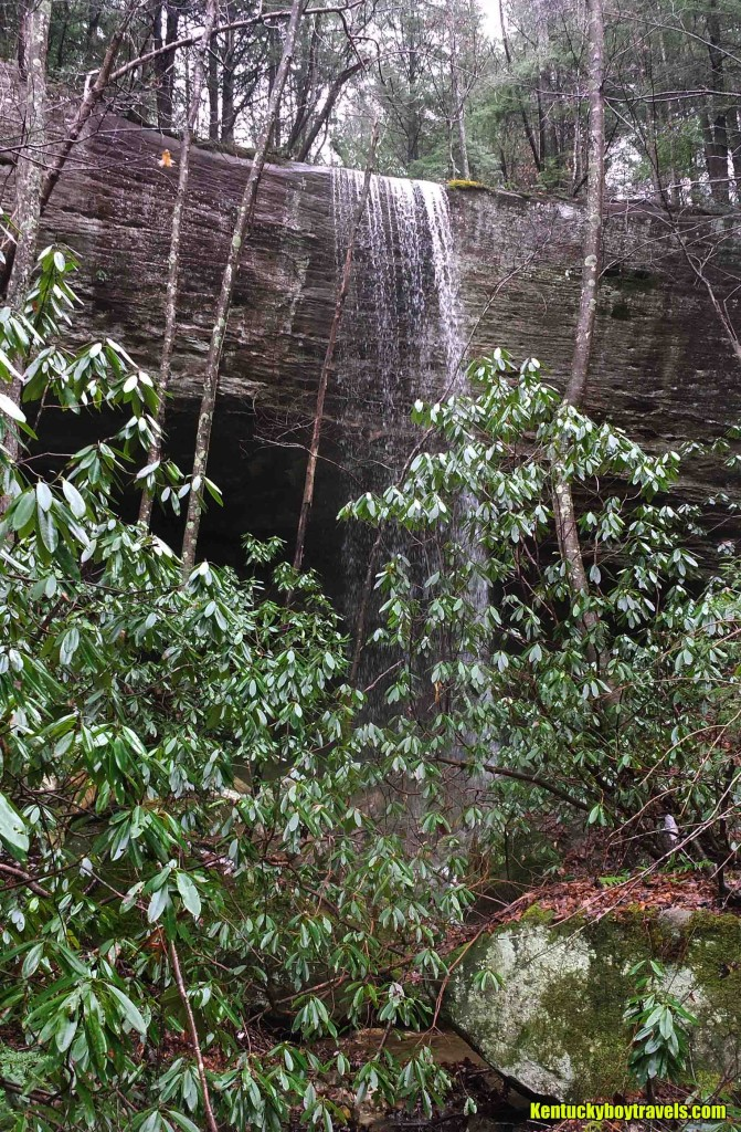 Rockcastle Bridge Falls (KY-80) from Front 12-26-15