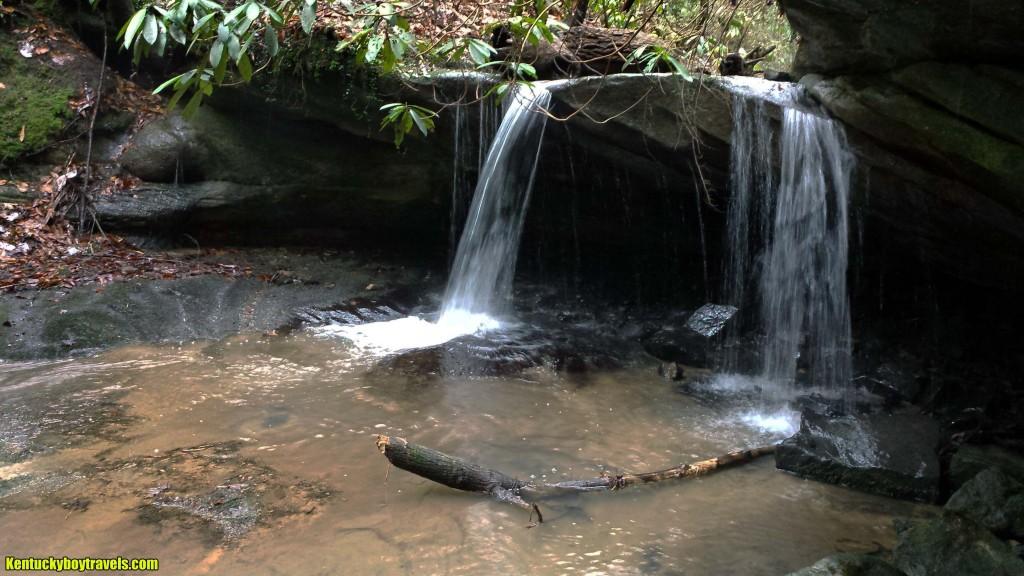 Rock Creek Falls #1 on 1/10/16