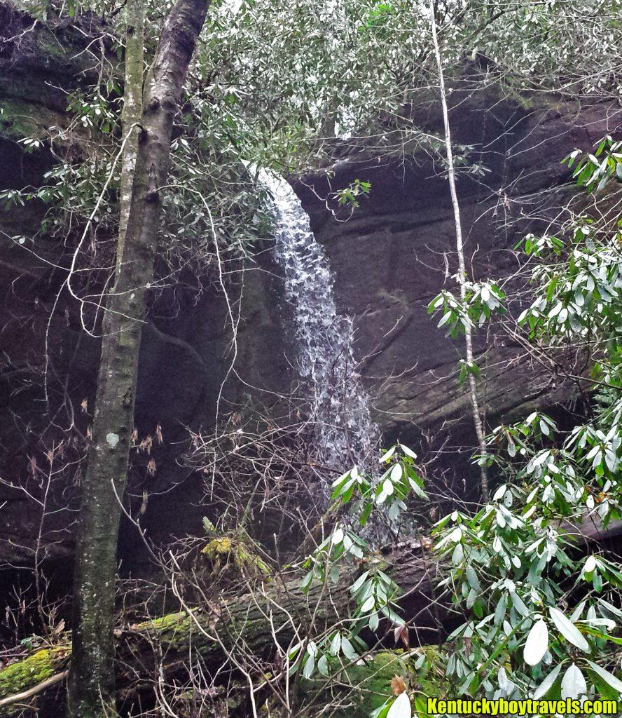 Bee Rock Arch Falls #3