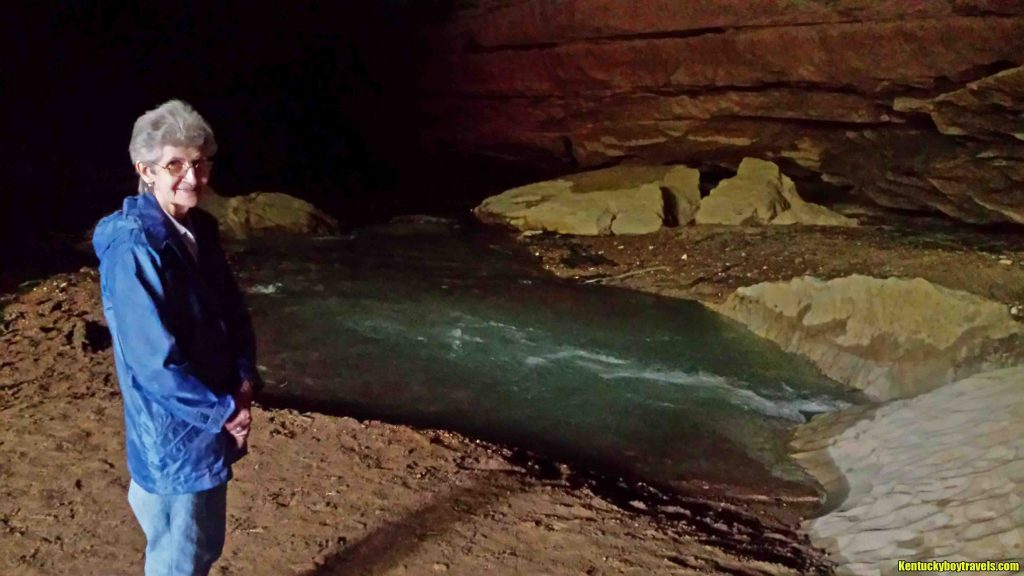 Mom inside Short Creek Cave 5/6/15