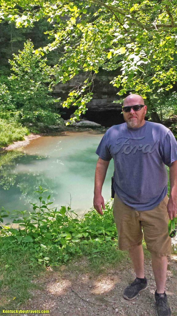 My buddy Shane on the banks of Short Creek 6/26/16