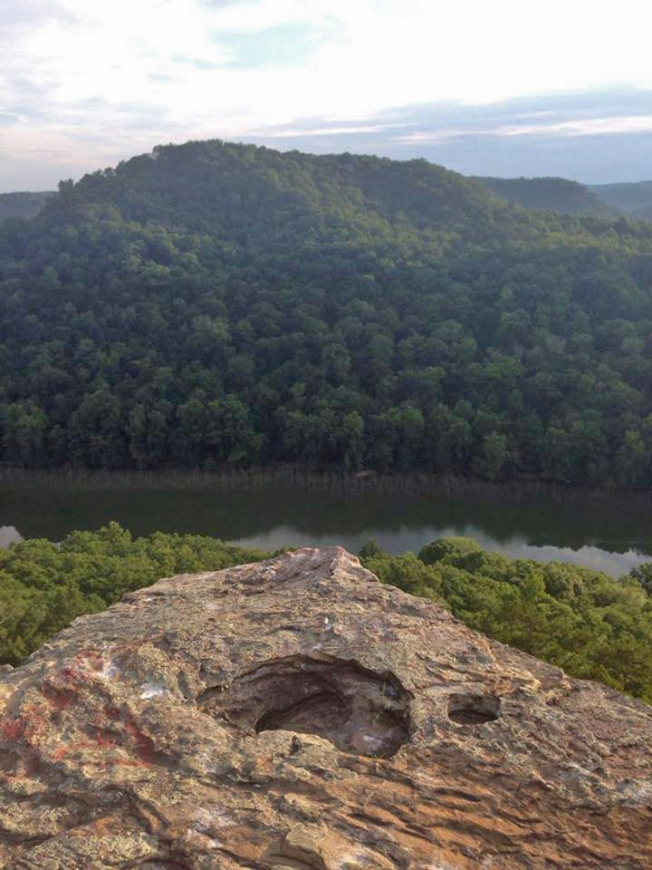 Buzzard Rock Overlooking the Big South Fork 7-2-16