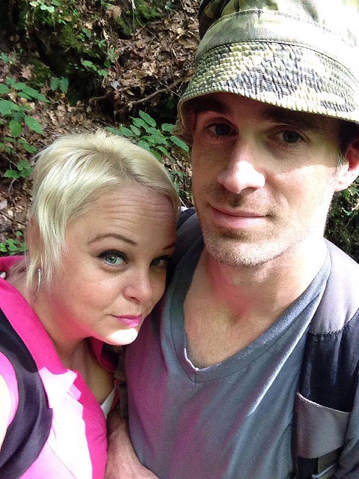 Delania and Jeremy near Acorn-Ano Falls 7-16-16