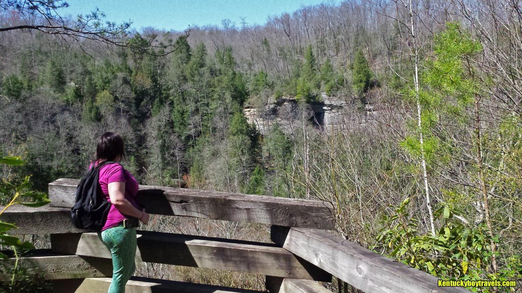 Delania at Laurel River Overlook #1 on 4-3-16