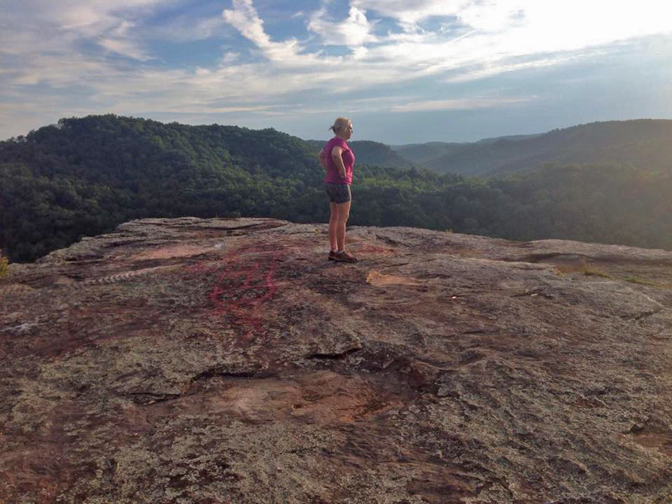 Delania on Buzzard Rock 7-2-16
