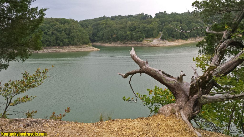 A view from Needle Point, Lake Cumberland