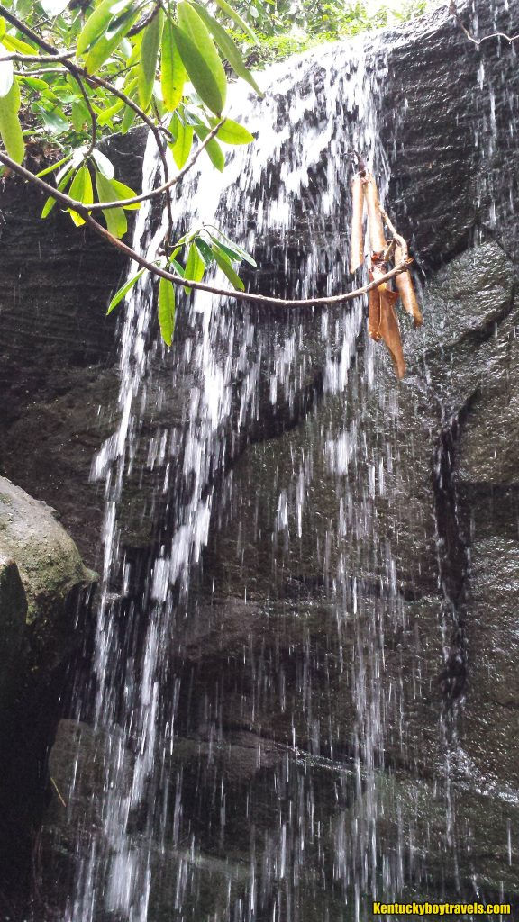 Sublimity Springs Tributary Falls up close 2/1/16