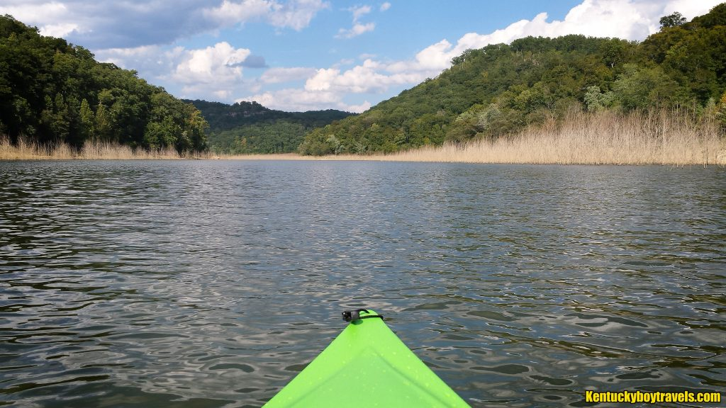 Paddling north on the Rockcastle River 9/10/16