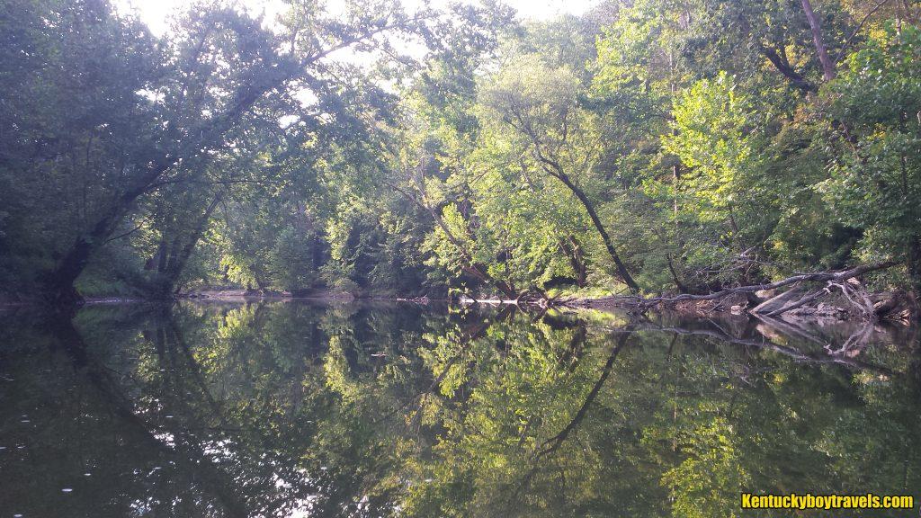 Buck Creek, east of Dykes Bridge on 9/4/16