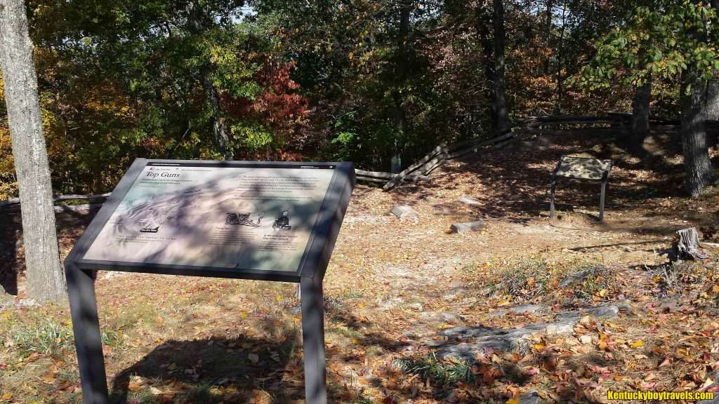 Fort Lyon on 10/15/16. The remnants of the earthworks are still visible.